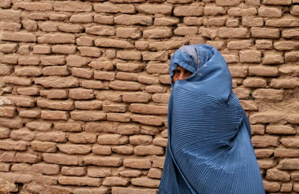 Mujer afgana.