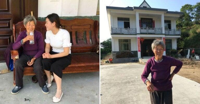 Hace 25 años una bebé abandonada fue adoptada, al crecer agradeció con una casa