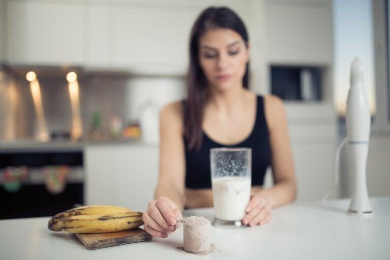 6 recetas de batidos caseros de proteína para aumentar masa muscular