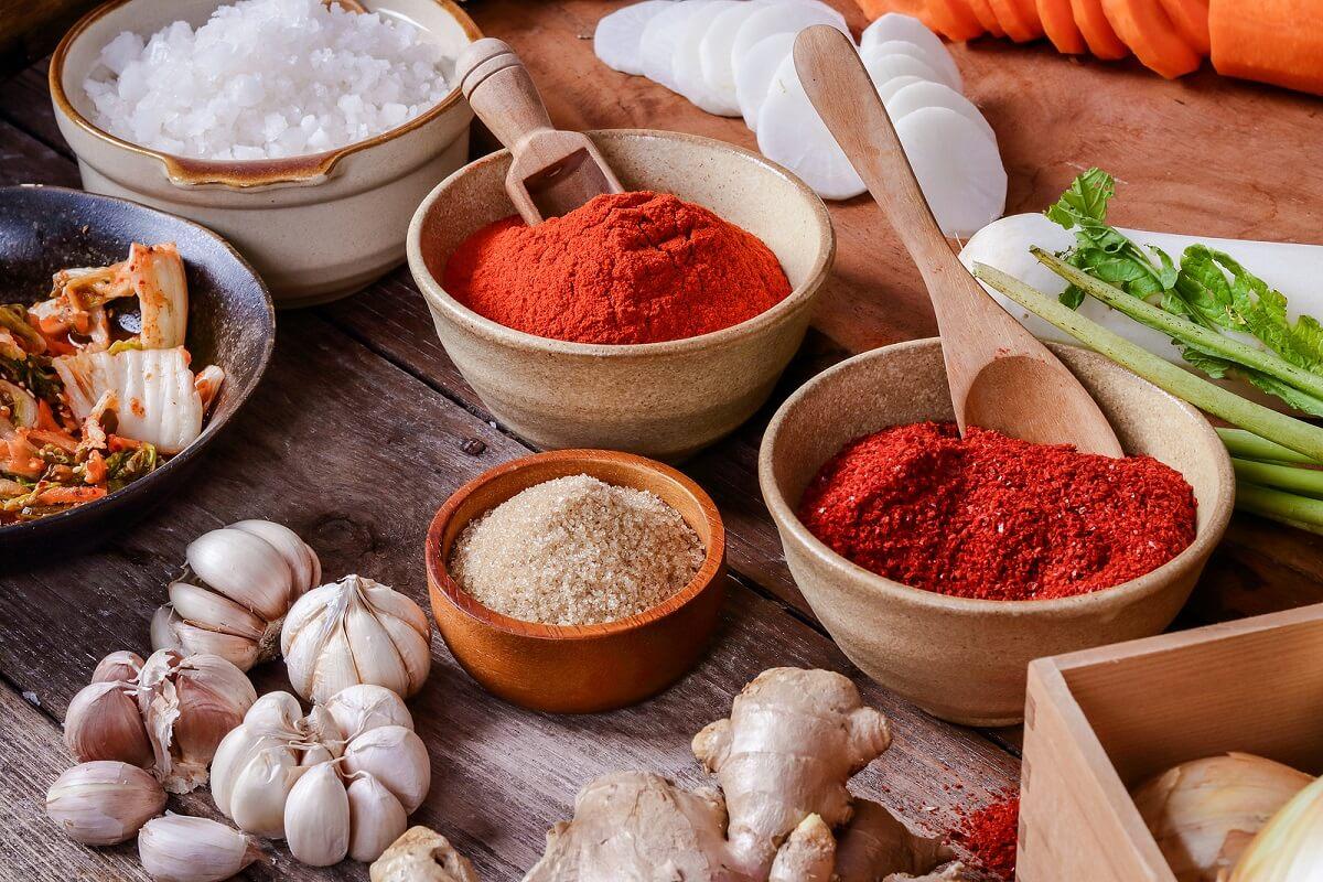 Información nutricional del gochujang