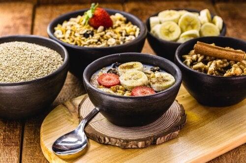 5 diferentes ideas para desayunar quinoa