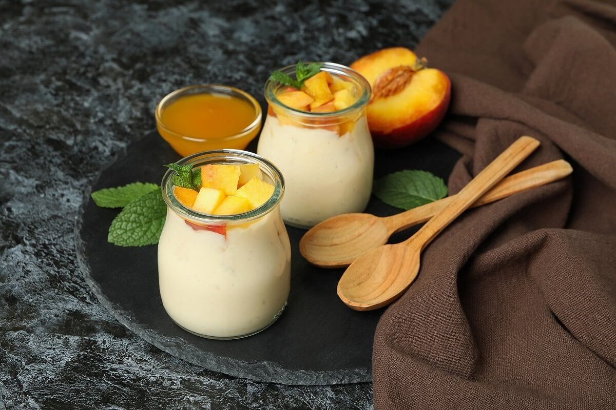Здоровые завтраки с йогуртом