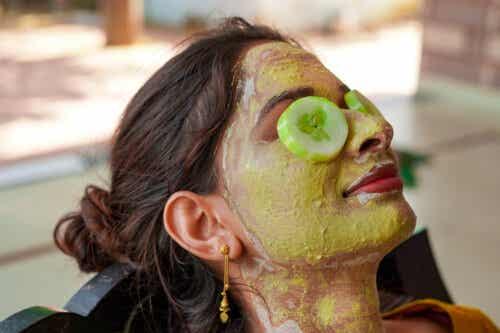 7 mascarillas de pepino para la piel