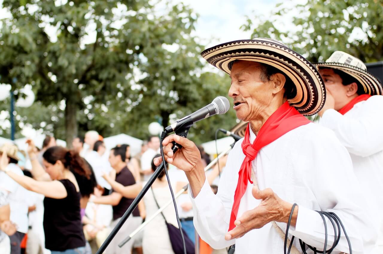Género popular de música salsa.
