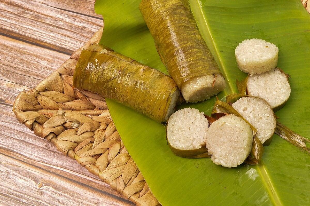 Información nutricional del arroz glutinoso