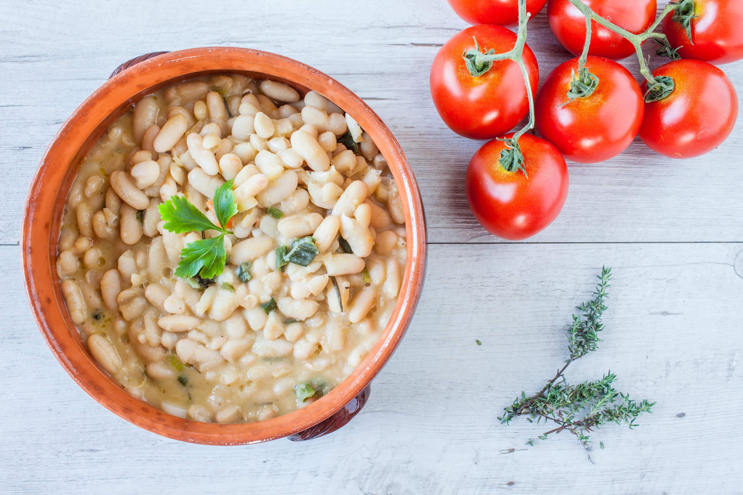 Fasolada, típica receta griega