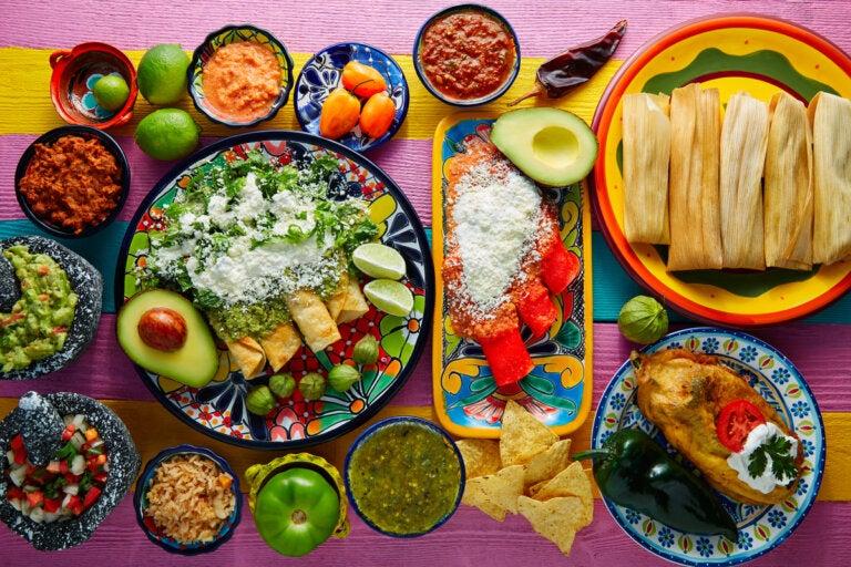 Top de ingredientes básicos en la dieta mexicana