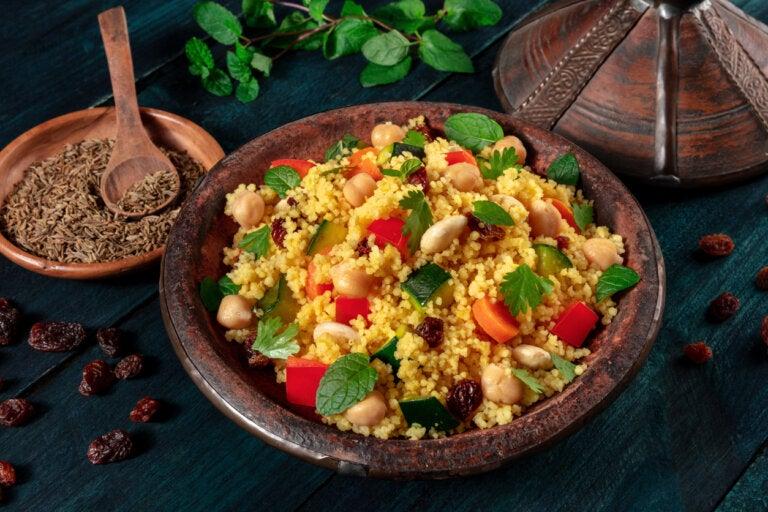 ¿Cómo preparar un cuscús vegetariano?