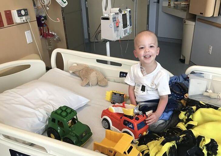 Niño superó la leucemia